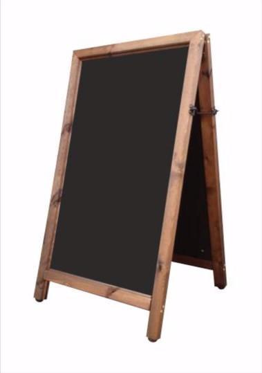 Hurricane Straight Top A-Frame Chalkboard