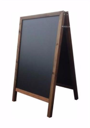 Hawker Straight Top A-Frame Chalkboard/Blackboard