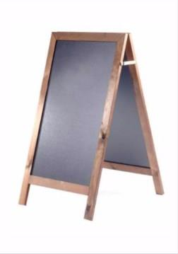 Lightning Square Top A-Frame Chalkboard/Blackboard