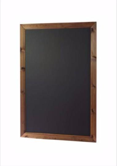 Spitfire Wooden Framed Wall Board Chalkboard