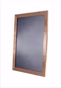 Lightning Wall Board Chalkboard with Wooden Frame