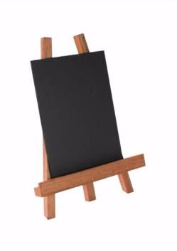 Small Table Top Easels with Chalkboard Panels - Packs of 2