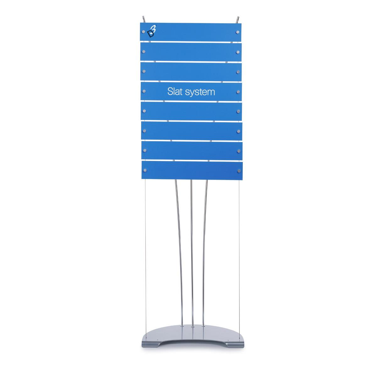 Floor Standing Directory Signage Display - 8 Panels