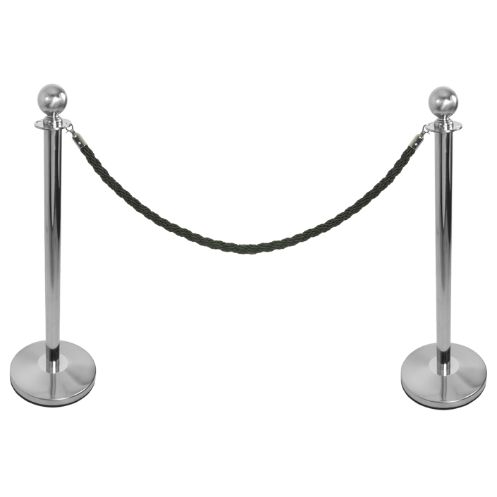 Rope and Post Barrier System