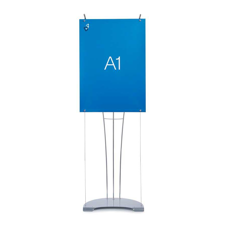 D3 Small Poster Tensioned Banner Stands