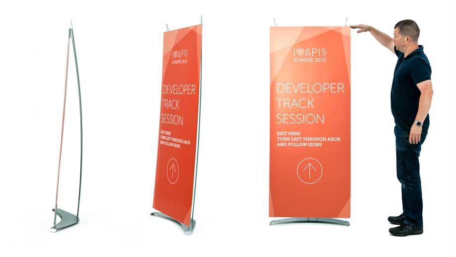 D4 Konnect Mini Banner Stands