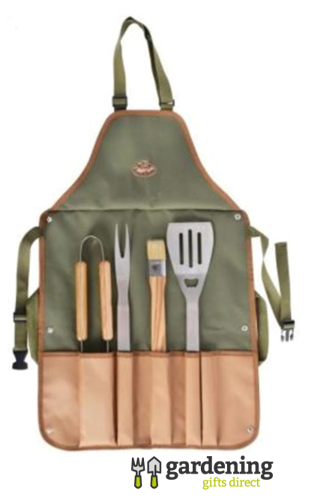 BBQ Gift Set with Apron and Tools/Utensils