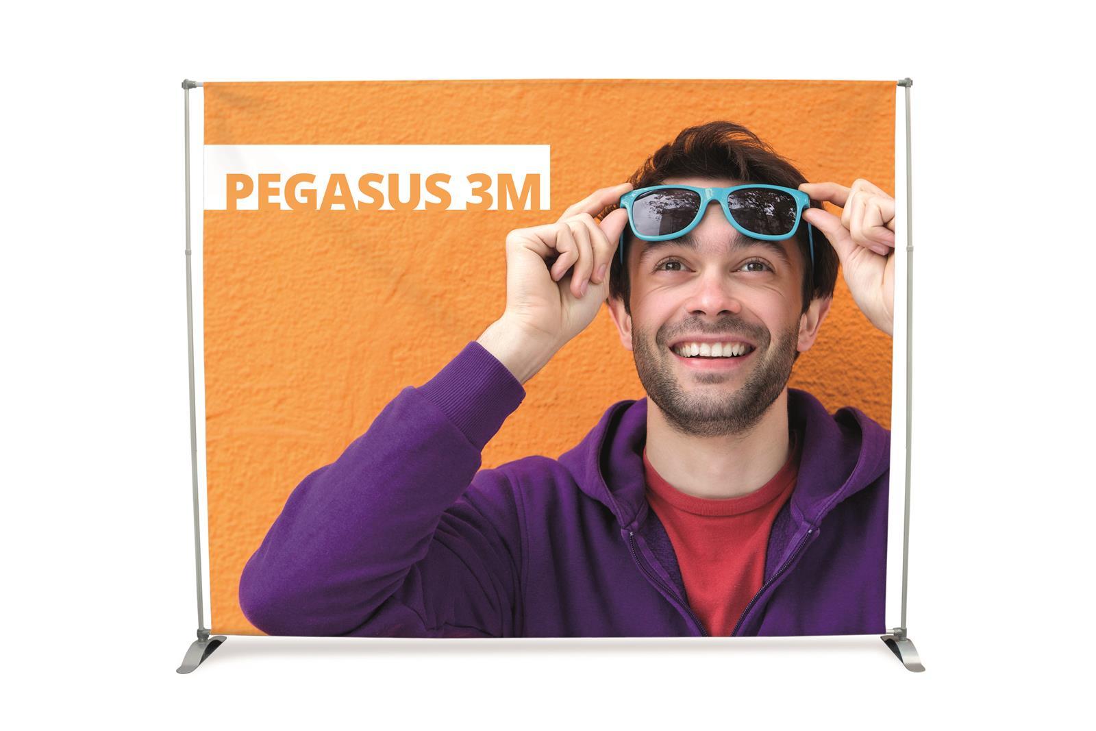 Pegasus Tension Banner Stand - 3m