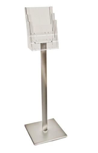 Luxury A4 Leaflet Display Stand - 4 Pockets