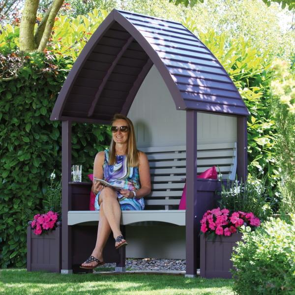AFK Cottage Garden Arbour - Lavender & Stone
