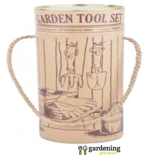 Gardening Gift Set in Decorative Tube