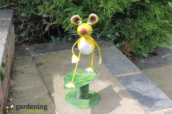 Surfin' Mouse Metal Garden Ornament