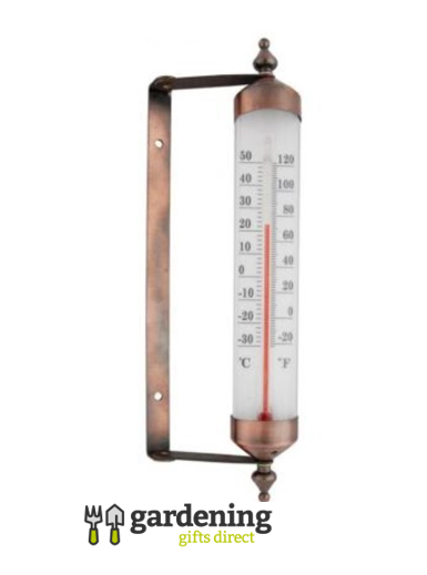 Wall Mounted Copper Thermometer