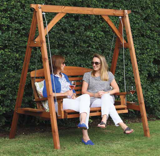 Apex Swing Seat - Wooden by AFK