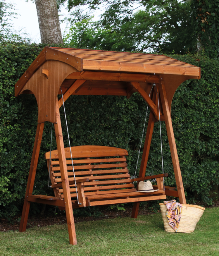Roofed Apex Swing Seat By AFK