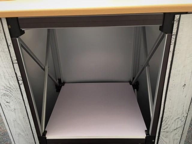 Pop Up Exhibition Counter 2x1 Mini Displays UK