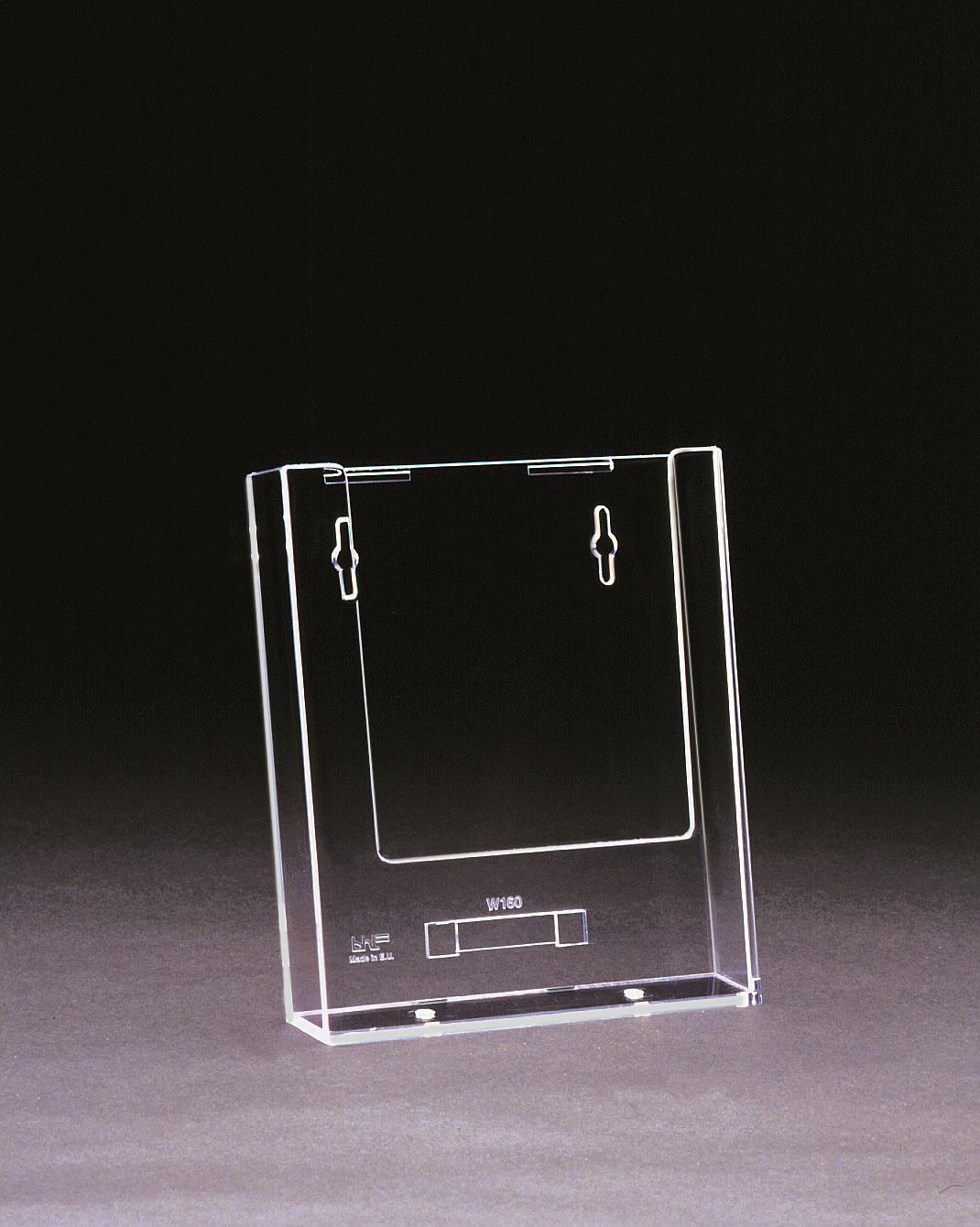 A5 Wall Mounted Clear Plastic Leaflet Holder
