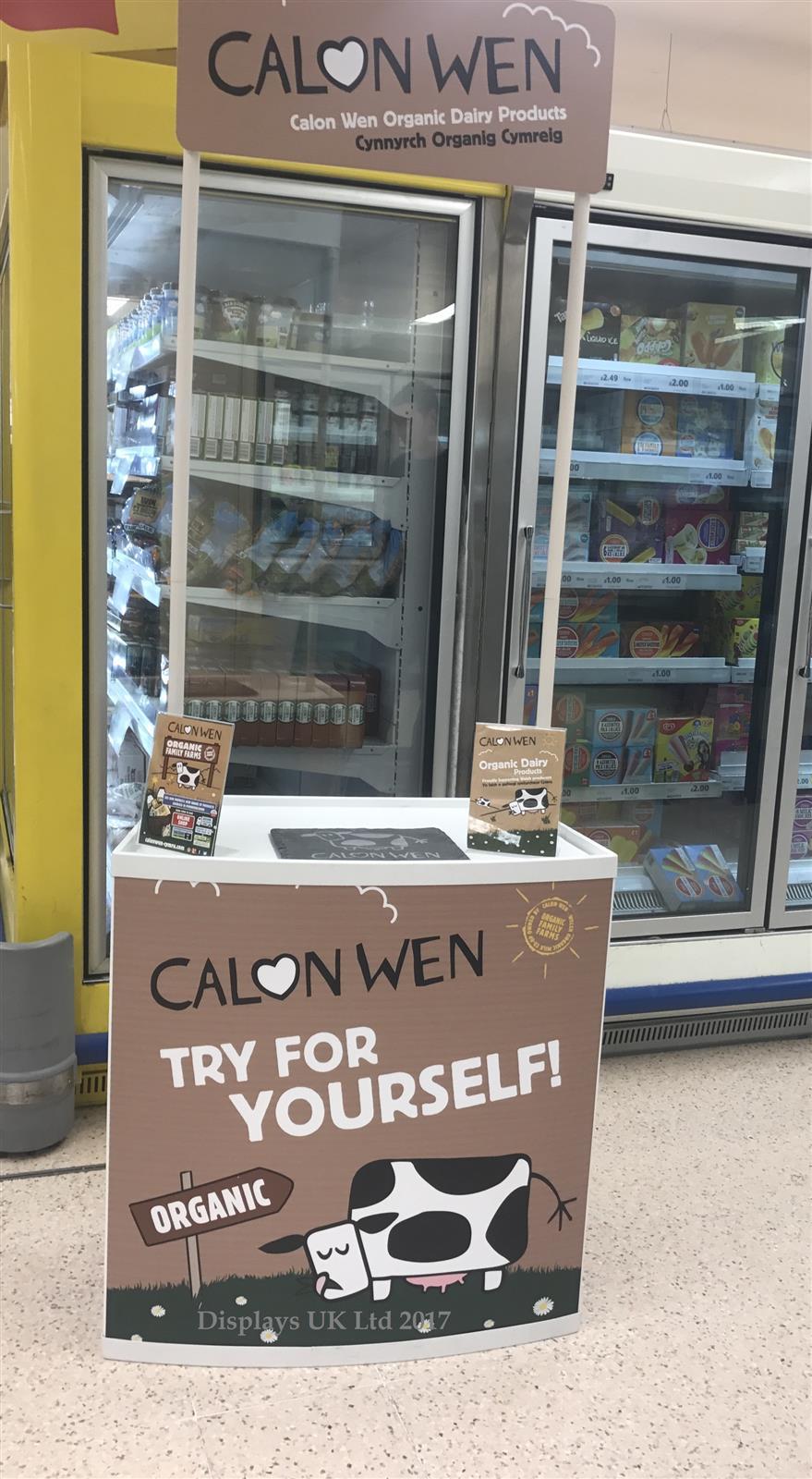 Supermarket Food Tasting & Sampling Promotion Counter
