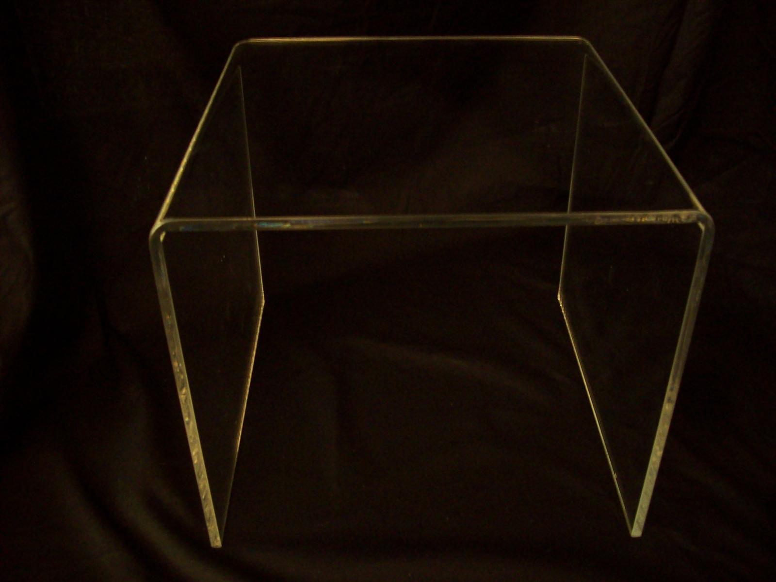 Perspex Side / Bedside Table