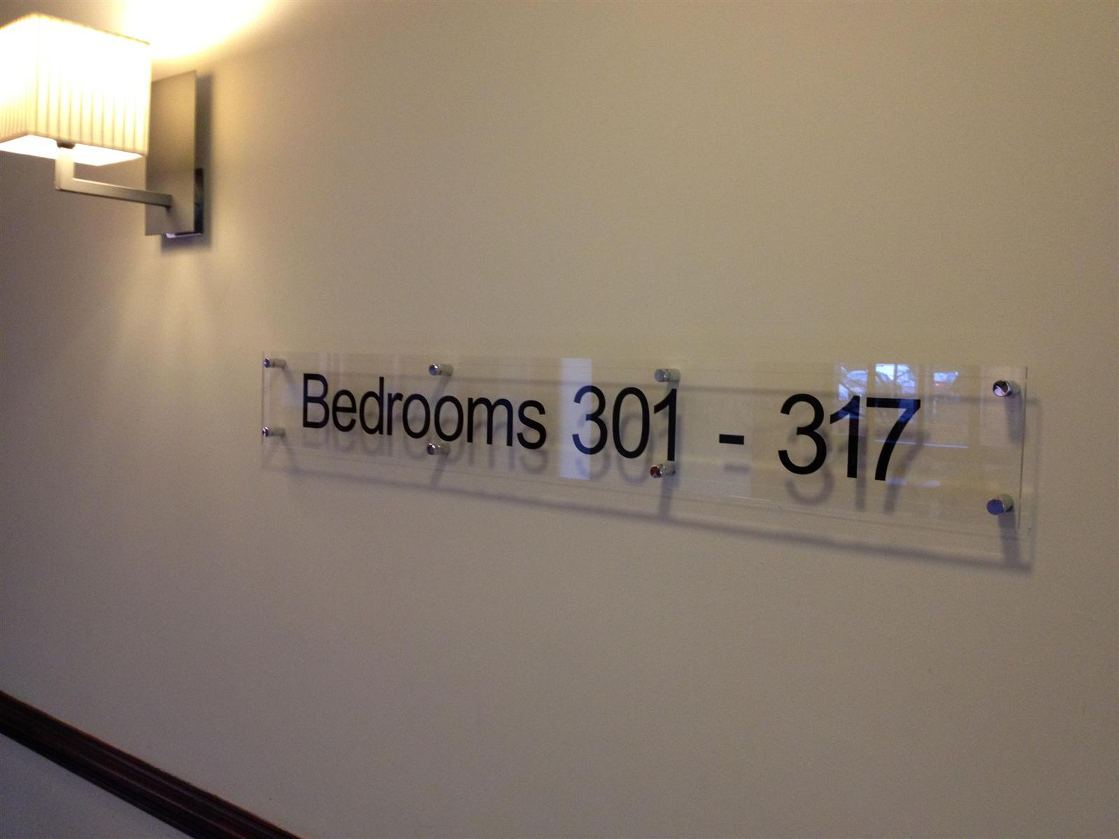 Perspex Acrylic Wall Mounted Sign Blanks & Panels