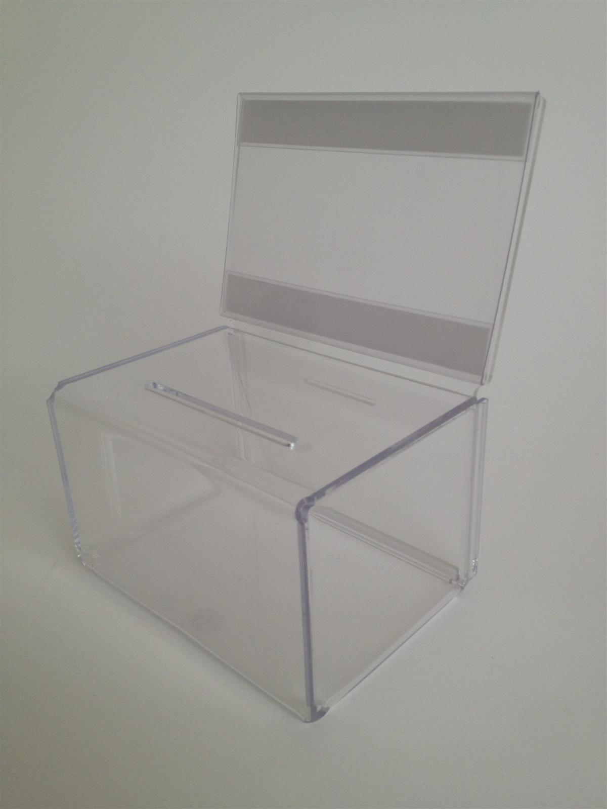 Perspex Acrylic Suggestion & Ballot Box