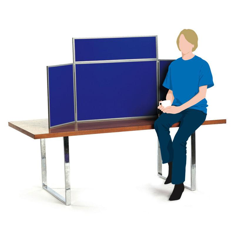 Junior/Mini Table Top Folding Display Boards For Hire