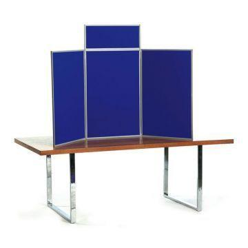 Folding Display Boards for Hire Rent - Senior Table Top Kit