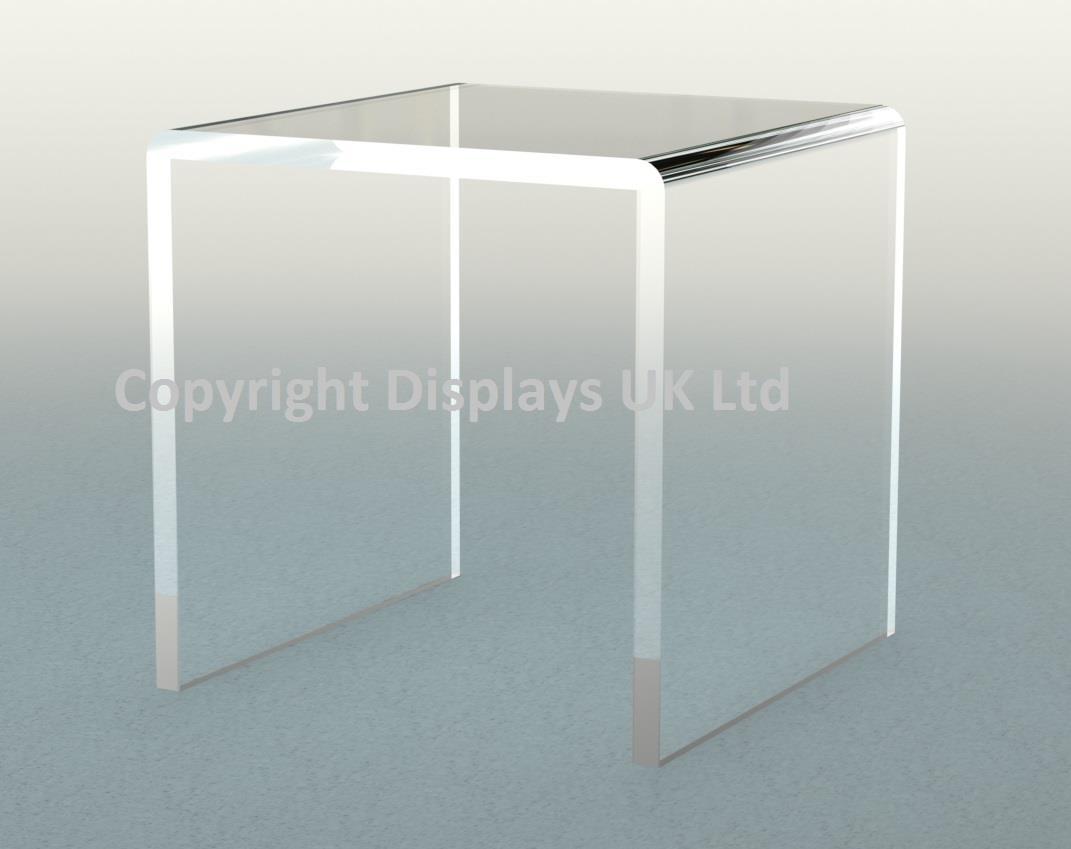 Perspex Acrylic Cube Bridge / Lift / Risers