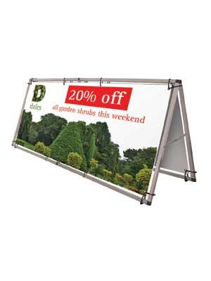 Monsoon Banner Stand Frame - Outdoor £45.00