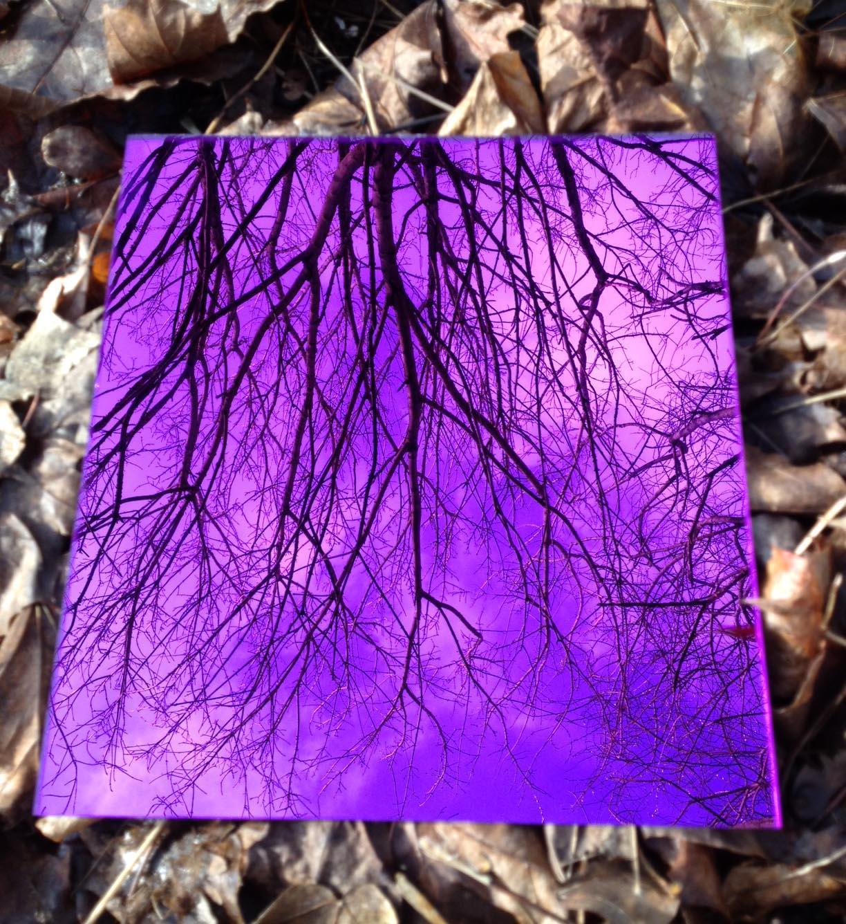 Garden Mirror Purple Colour Sheets of Acrylic