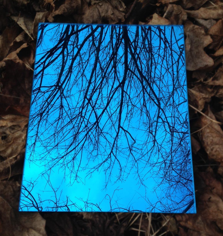 Garden Mirror Blue Colour Sheets of Acrylic
