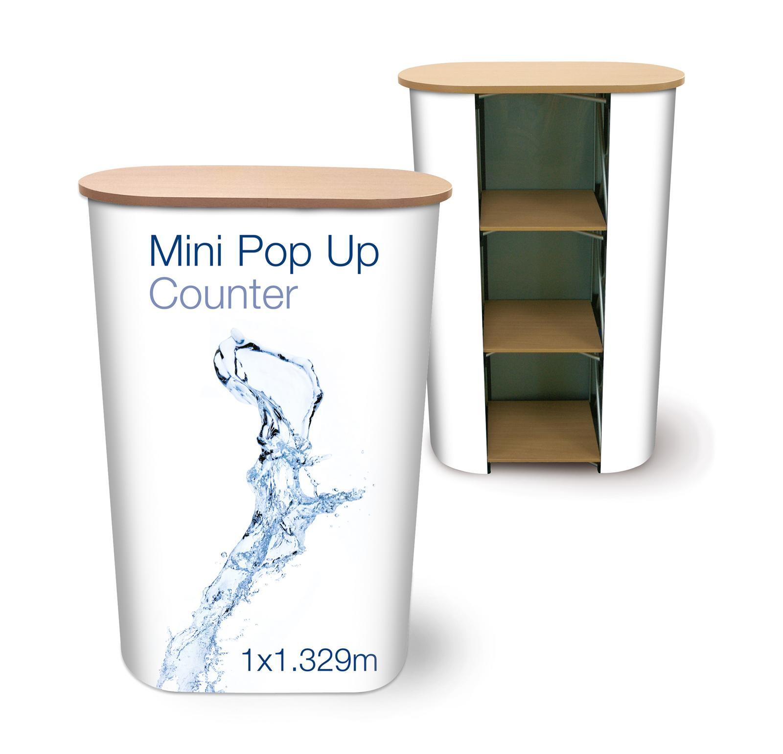 Pop Up Exhibition Counter - Table - Desk - Workstation