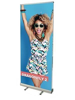 Dragonfly Double Sided Roller Banner Stand