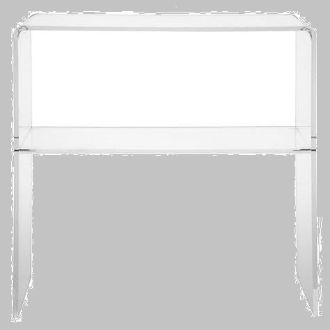 Perspex Acrylic Console Table - Clear - 10mm Thick