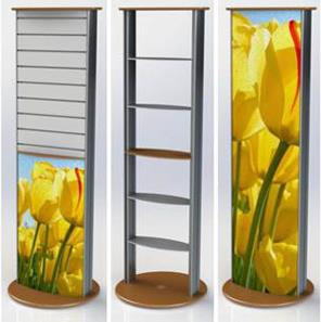 Retail Shelving Display Stands - Linear
