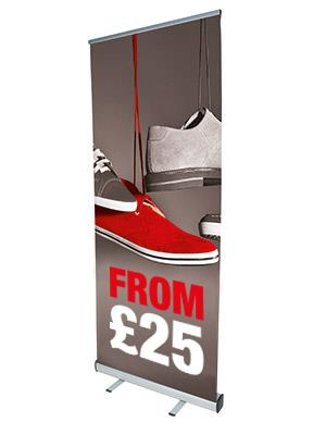 EVENT Pull Up Roller Banner Stand From £11.25