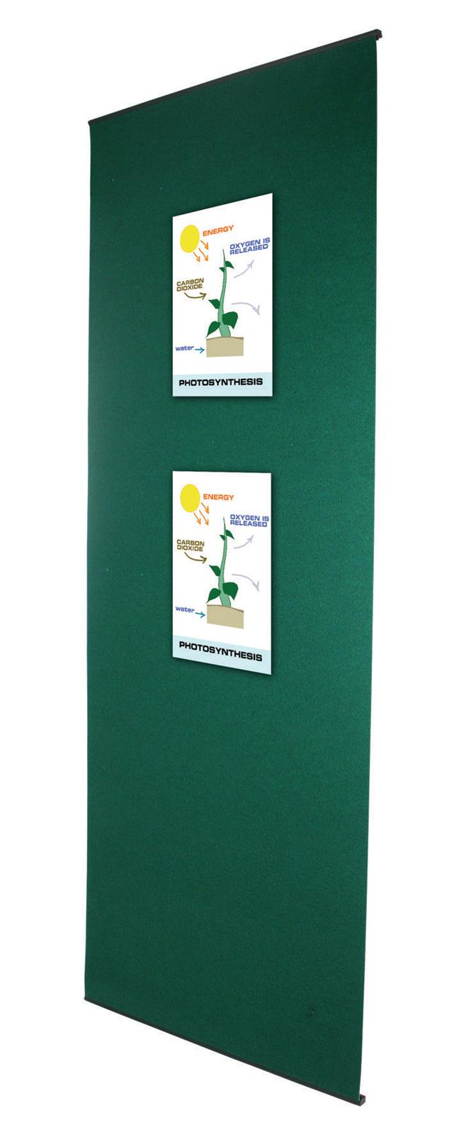 Fabric Banner Stand - Velcro Graphic Attachment