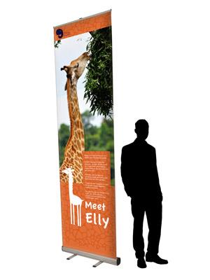 Extra Tall Banner Stand 3000mm