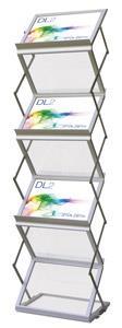 A4 Zed Up Lite LANDSCAPE Brochure Stand