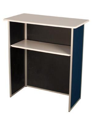 Aluminium Folding Exhibition Counter - Straight £129.99