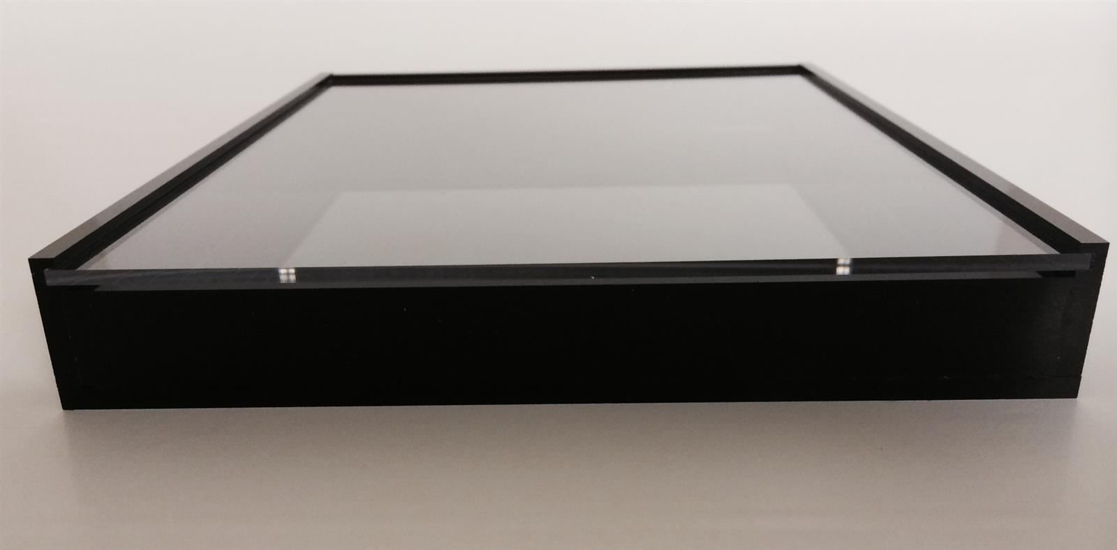 Acrylic Display Case with Sliding Front Cover