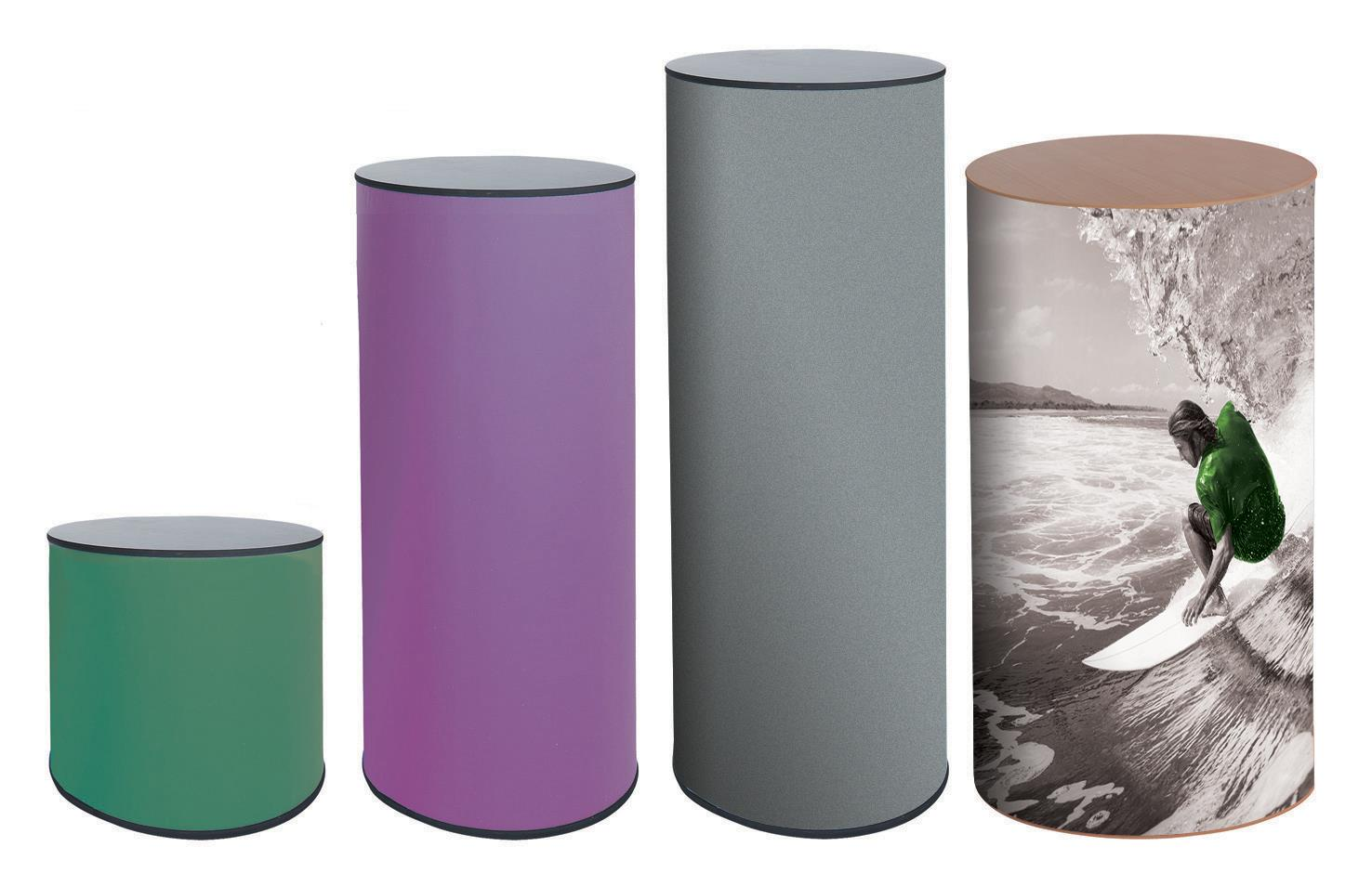 Physique Round Display Counters & Plinths £83.50