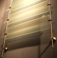 Perspex Slat & Rod Sign Systems - Wall Mounted