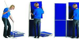 Panel and Pole Display Stand Kit 12