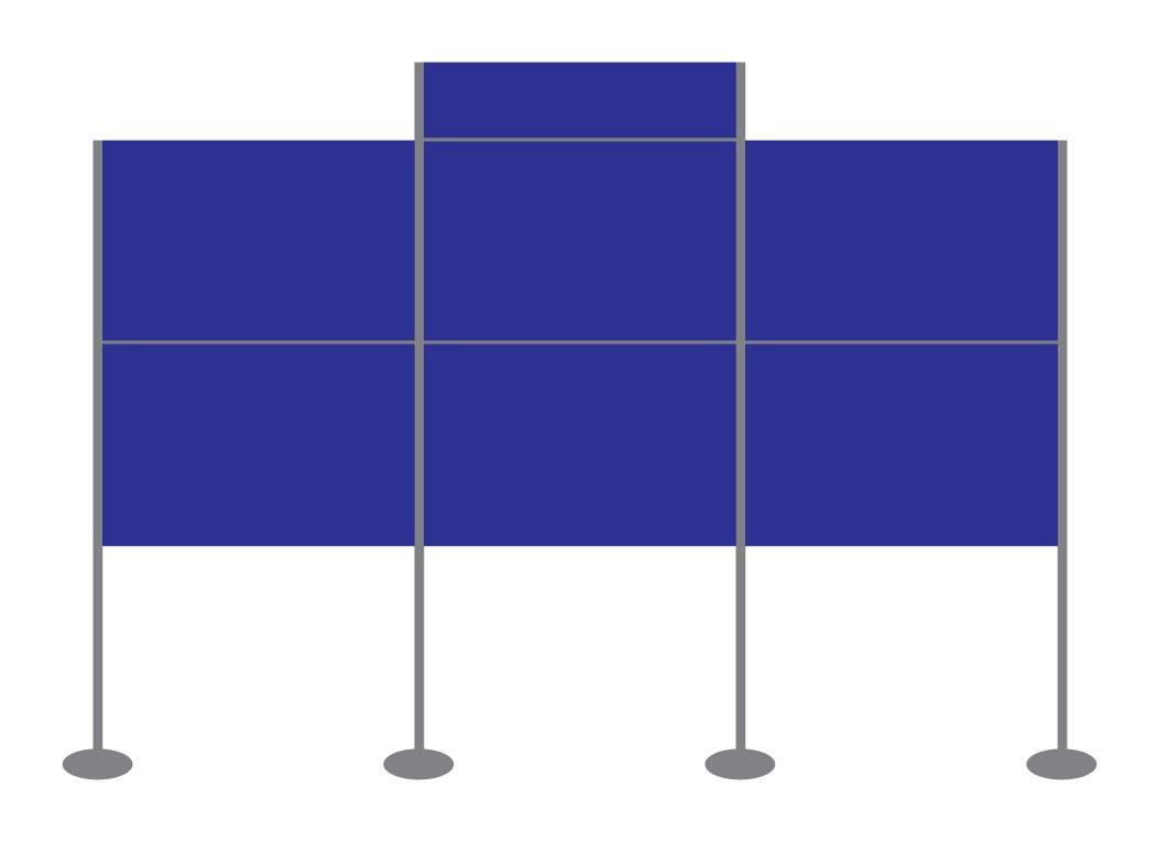 Panel and Pole Display Stand Kit 15
