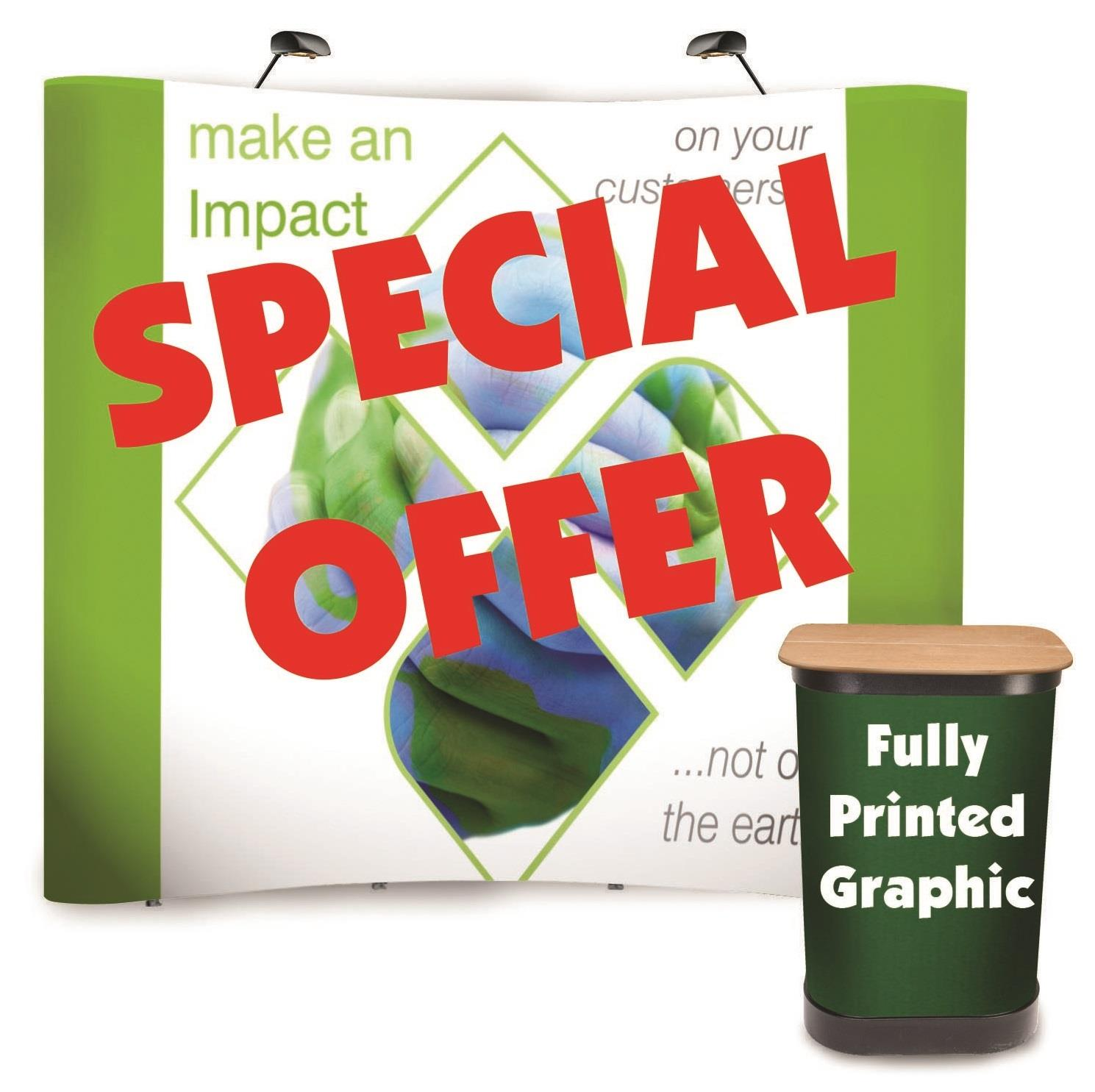 Special Offer Pop Up Exhibition Stands
