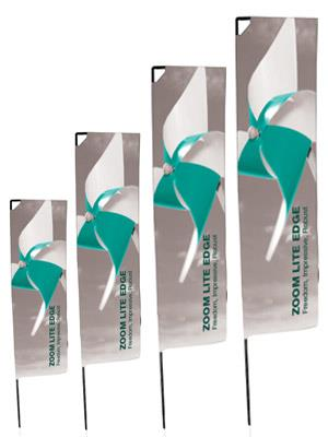 Rectangular Outdoor Flags S, M, L and XL