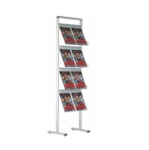 Agency Acrylic Single Side Brochure Stand