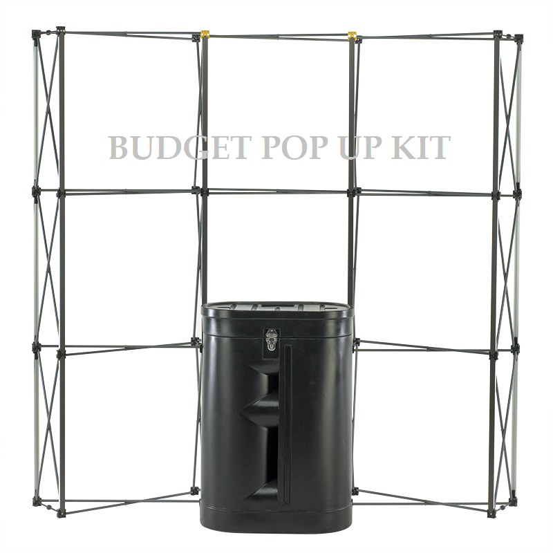 3x1 Pop Up Display Stand Kit £225 - ES