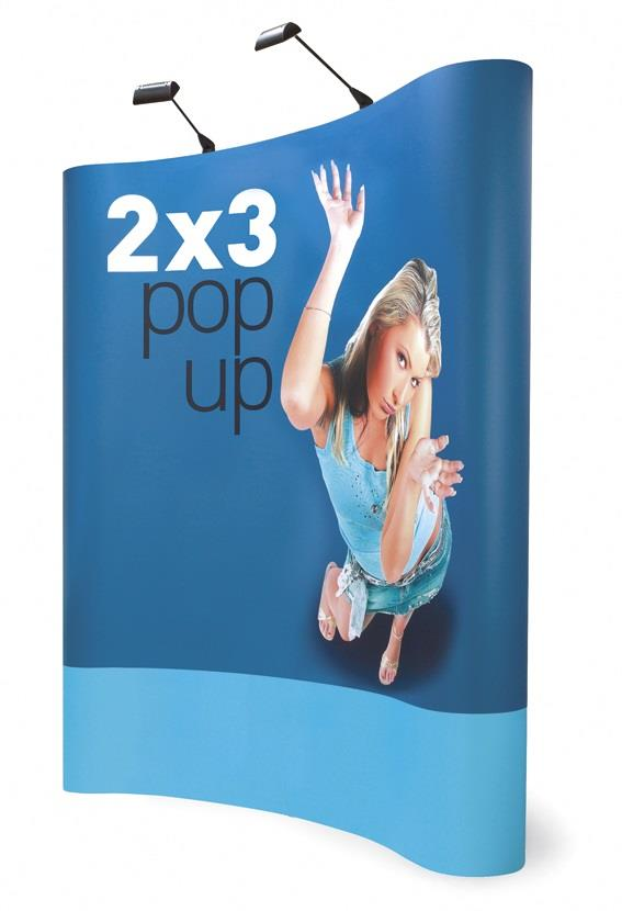3x2 Pop Up Exhibition Display Stand £319 - ES